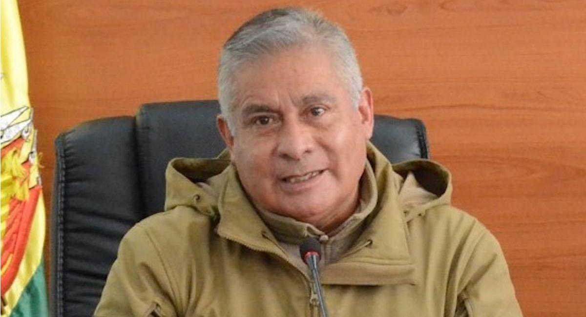 El viceministro de Lucha Contra el Contrabando, Daniel Vargas. Foto: ABI