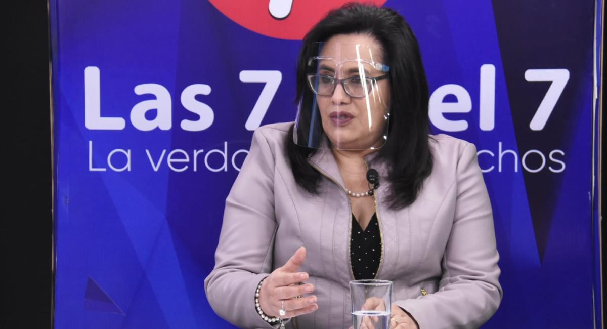 Ivette Espinoza, viceministra de Pensiones y Servicios Financieros. Foto: ABI