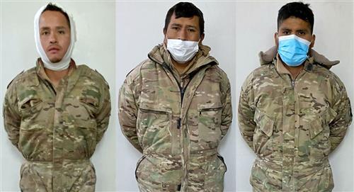 Los militares bolivianos detenidos en Chile quedarán en prisión preventiva