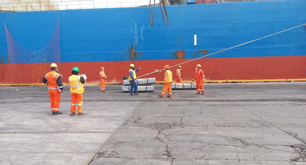 Carga boliviana por puerto de Matarani creció en 25%. Foto: ABI