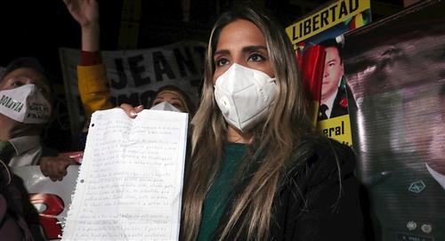 Hija de Jeanine Áñez dice no temer a las amenazas