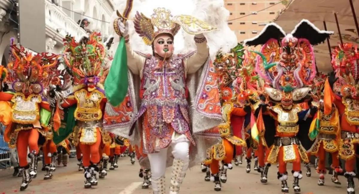 El Carnaval fue suspendido en enero por rebrote de la COVID-19. Foto: ABI