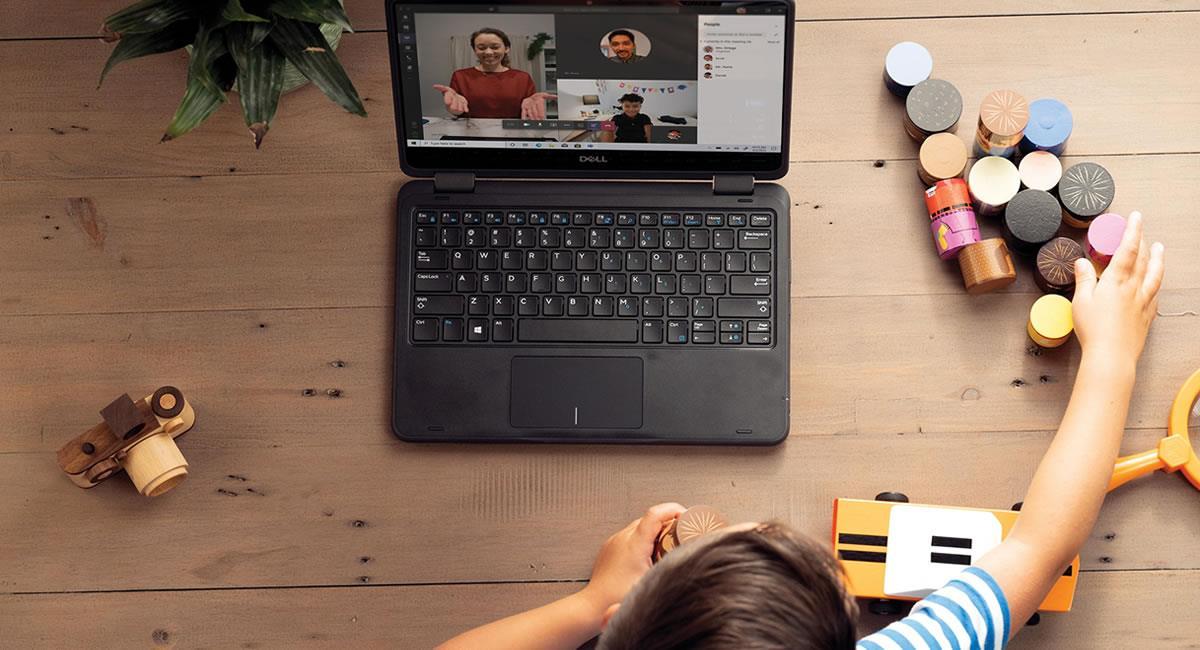 Plataformas digitales para optimizar la educación remota e integral. Foto: Cortesía Microsoft