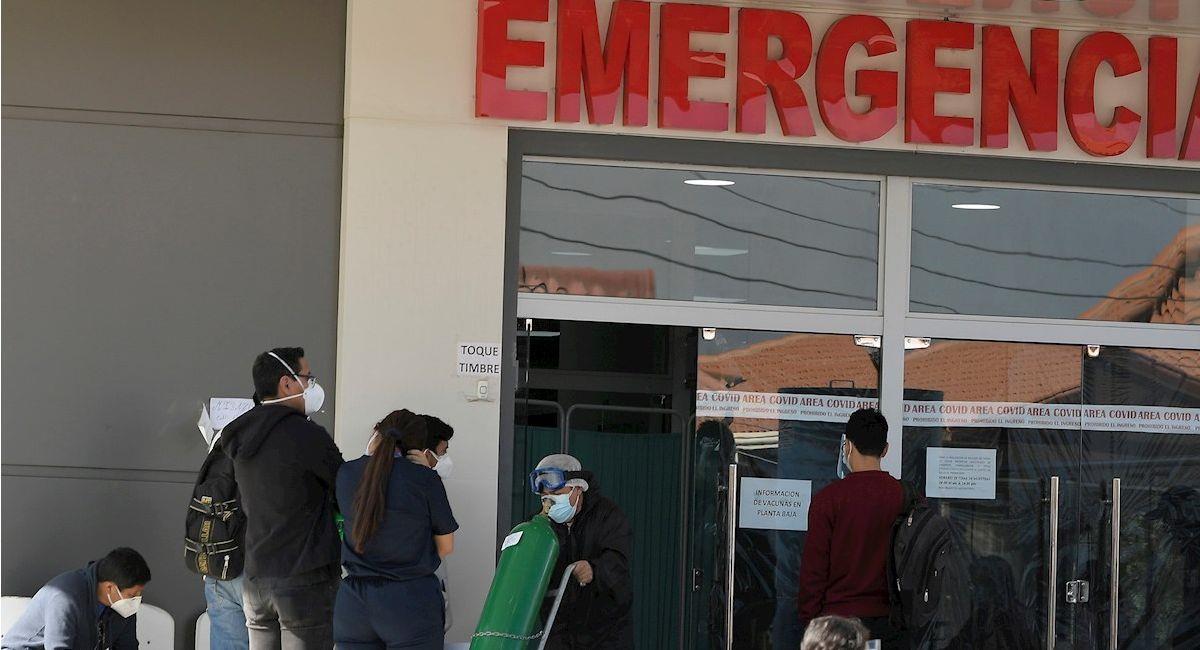 Bolivia acumula 18.616 muertos y 496.032 casos positivos. Foto: EFE