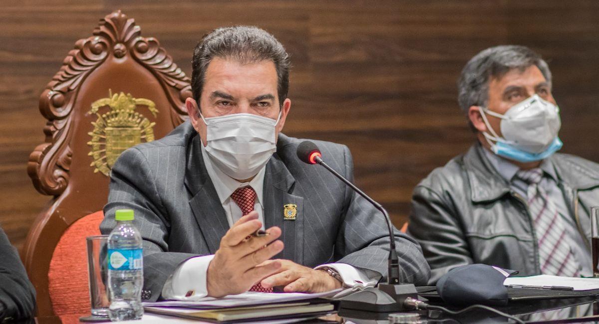 El alcalde de Cochabamba, Manfred Reyes Villa. Foto: ABI