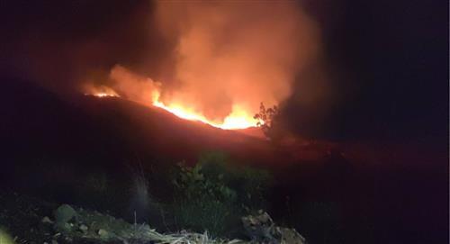 Incendio destruye 30 hectáreas del Parque Tunari