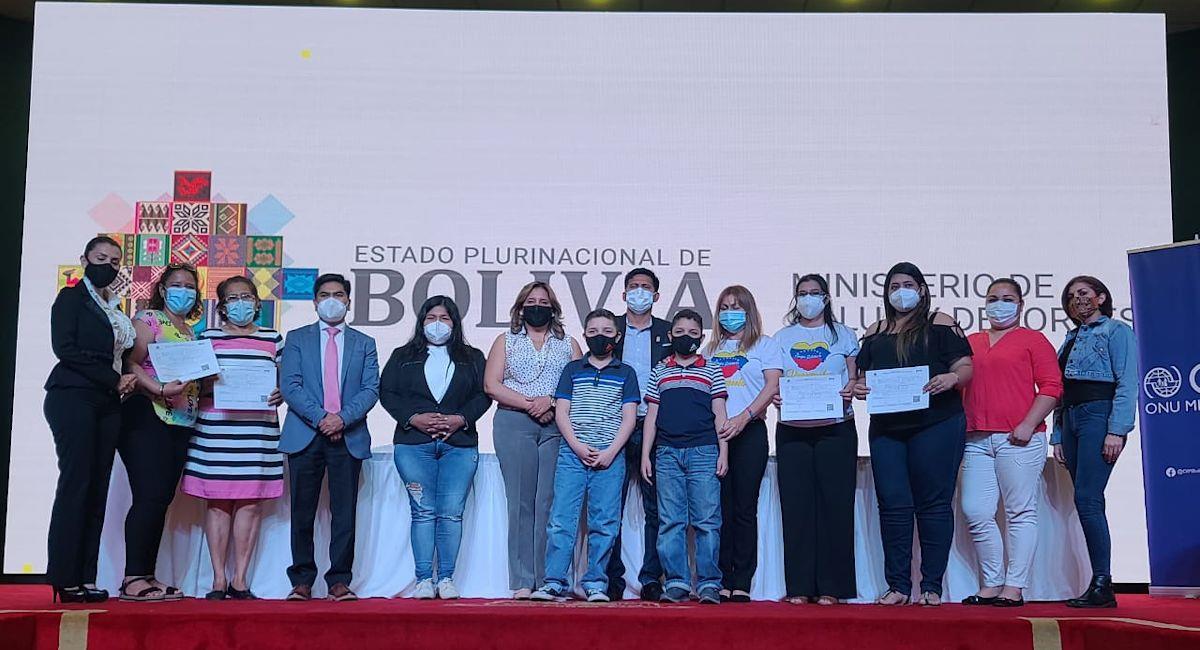 2.000 migrantes que viven en Bolivia podrán acceder al SUS. Foto: ABI