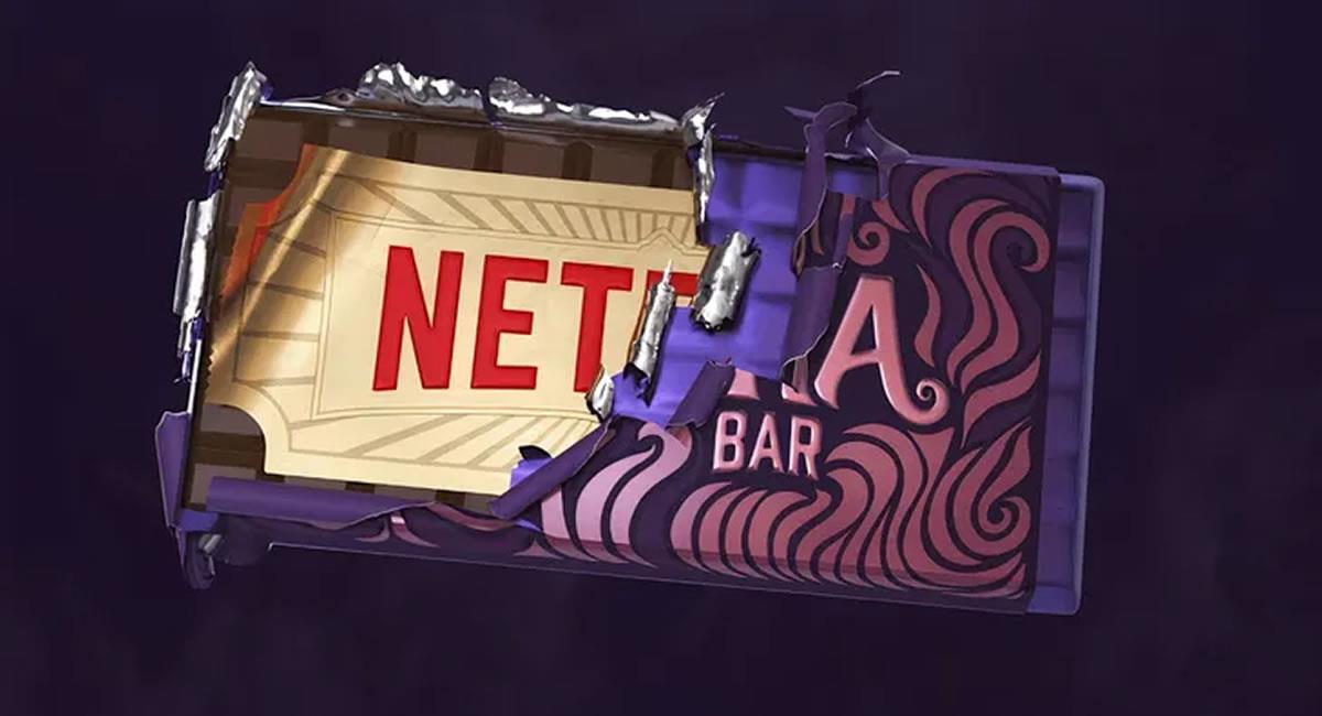 Netflix realizó una serie animada sobre 'Charlie y la fábrica de chocolate'. Foto: Twitter @NetflixLAT