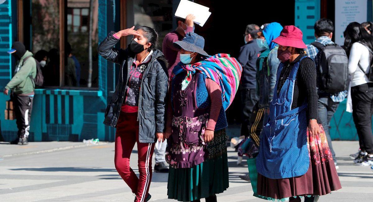 Bolivia reportó 347 nuevos contagios y 7 decesos. Foto: EFE