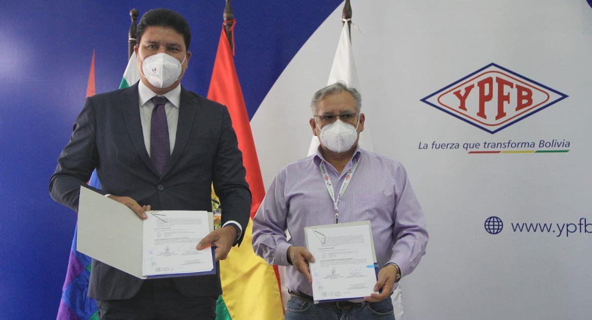 YPFB firmó un contrata con la empresa brasileña Delta Geração de Energía. Foto: ABI