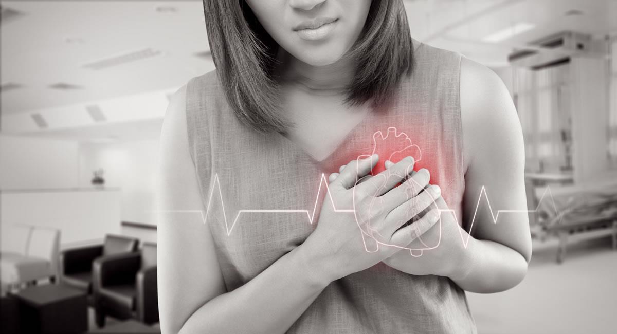 Un ataque cardíaco se produce cuando se bloquea el flujo de sangre que va al corazón, causado por la acumulación de grasa, colesterol u otras sustancias. Foto: Shutterstock