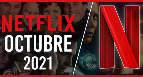 Estrenos películas y series Netflix octubre 2021