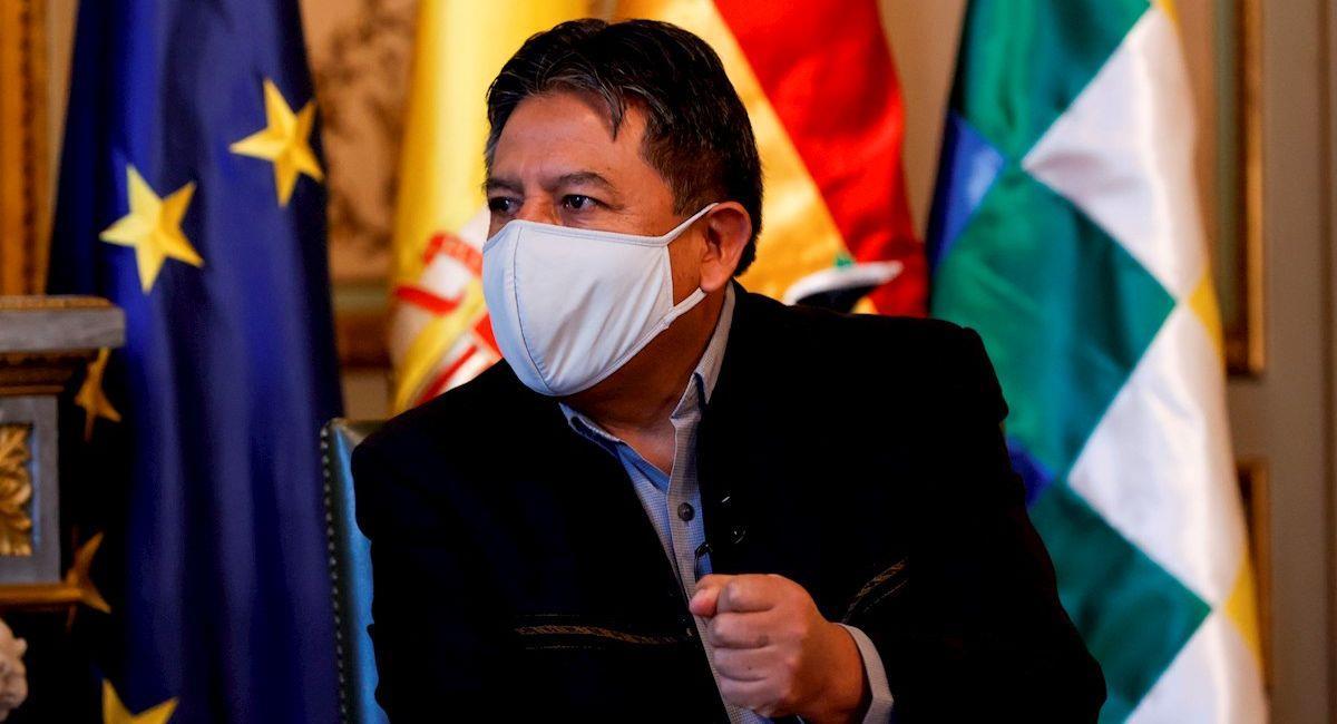 El vicepresidente de Bolivia. Foto: EFE