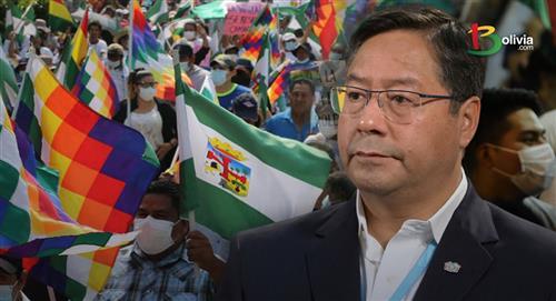 Protestas en Bolivia: Marcha indígena llegó a Santa Cruz para presionar al presidente Arce