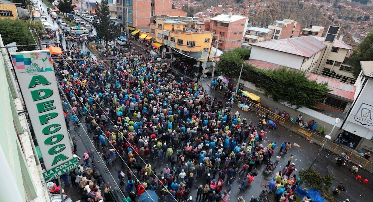 Cocaleros eligirán a una nueva dirigencia para Adepcoca. Foto: EFE