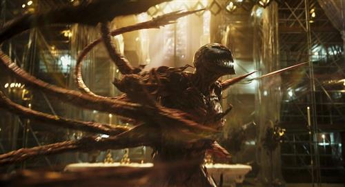 'Venom: Carnage liberado' se convirtió en el mejor estreno desde la pandemia