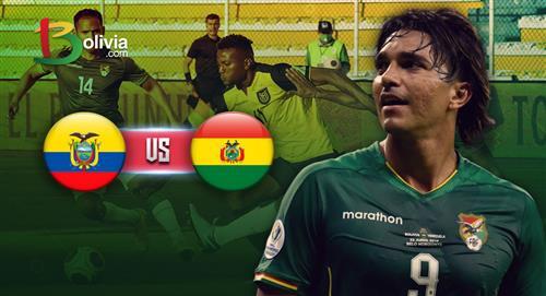 Bolivia se prepara para jugar frente a Ecuador