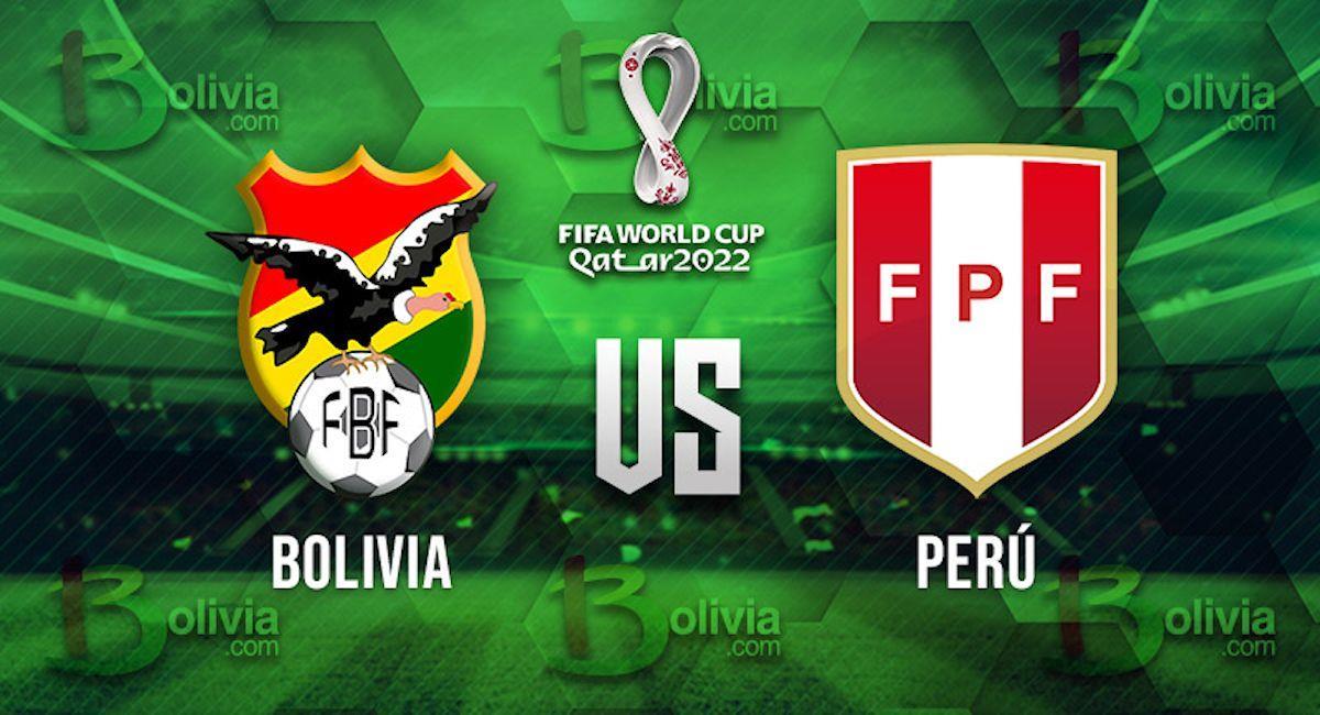 Bolivia vs Perú. Foto: Interlatin