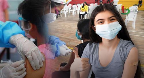 Bolivia podría volver a clases presenciales tras vacunar a jóvenes de 16 y 17 años