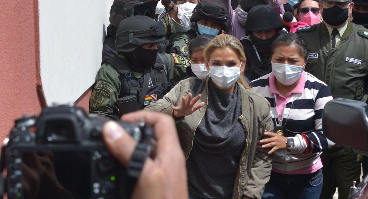 La expresidenta Jeanine Áñez. Foto: ABI