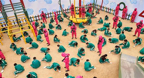 La serie surcoreana 'El Juego del Calamar' conquista el mundo
