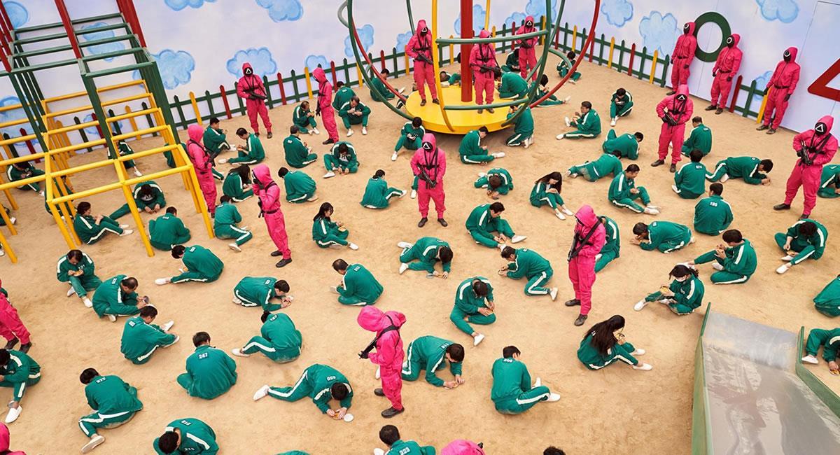 Una serie surcoreana es ahora mismo la ficción más vista en 90 países. Foto: EFE