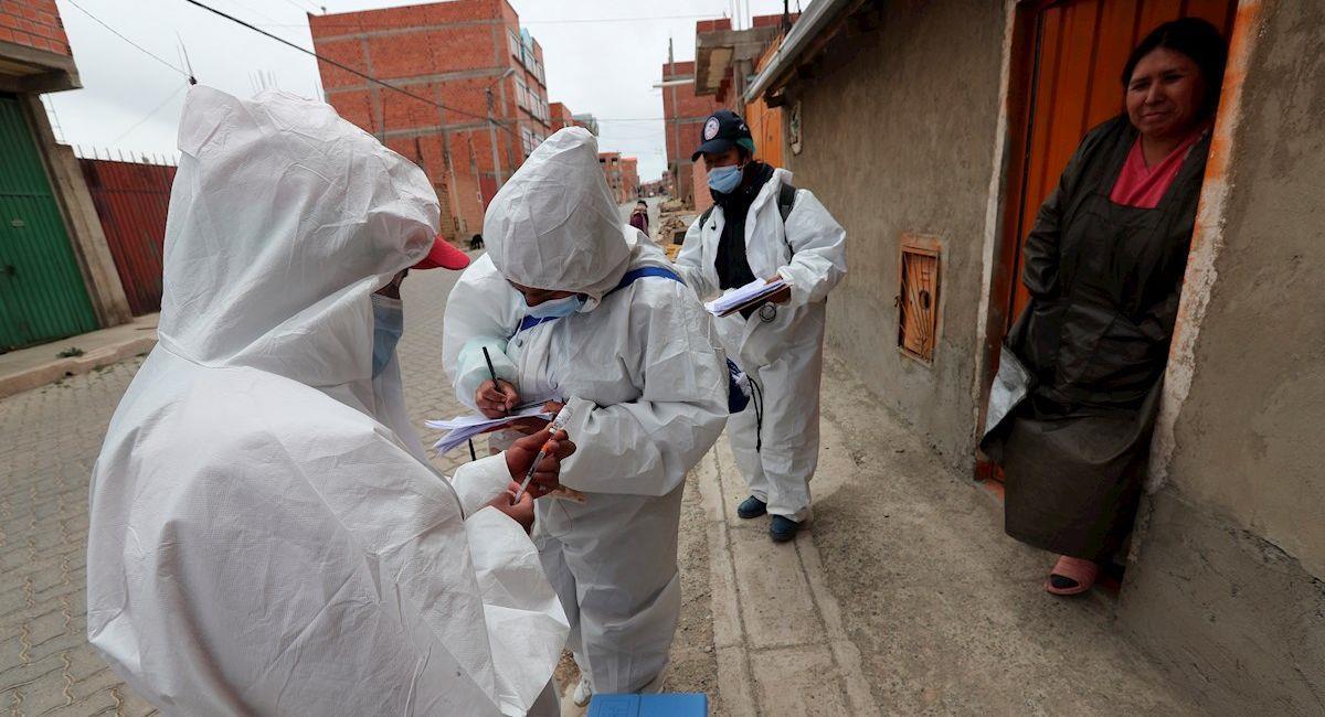 Brigadas médica de vacunación. Foto: EFE