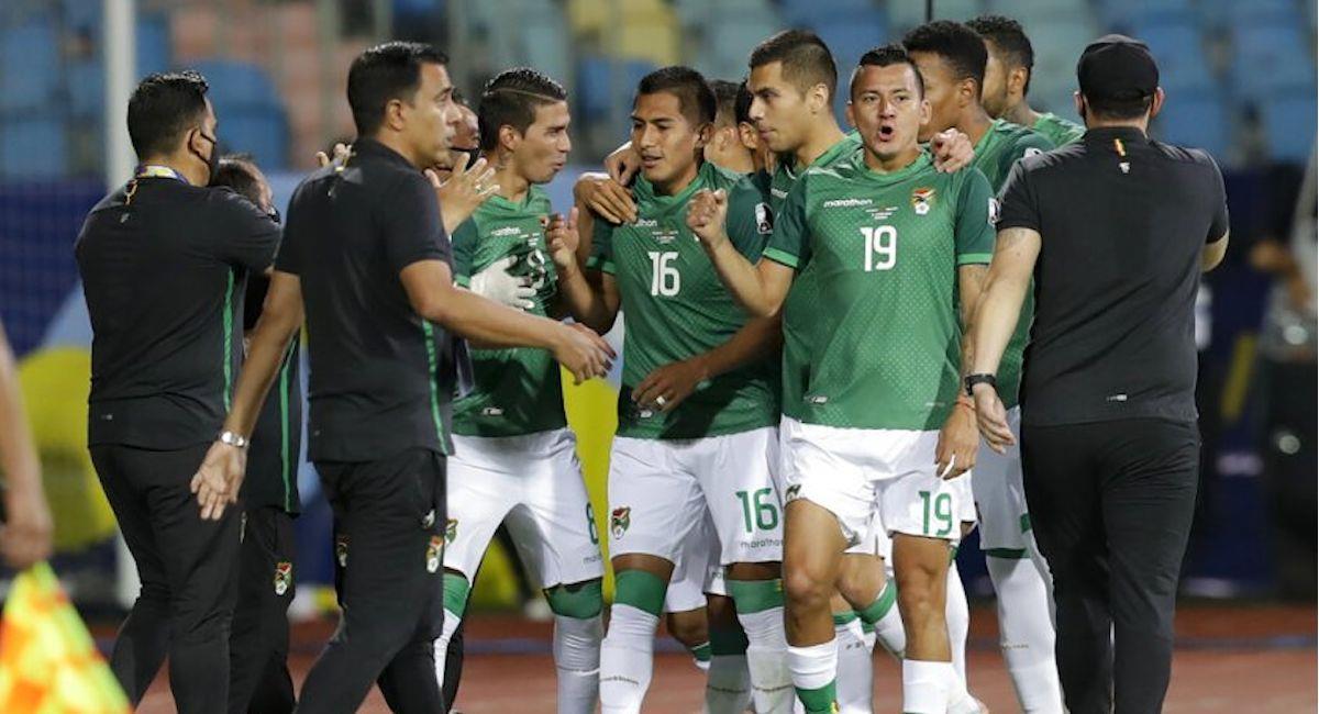 La selección boliviana. Foto: ABI
