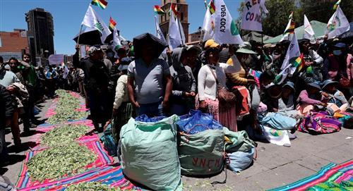 """Cocaleros de Los Yungas celebran """"Jach'a Akulli"""""""